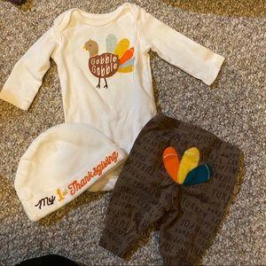 Newborn Carters 3 Piece Thanksgiving Bundle 🦃